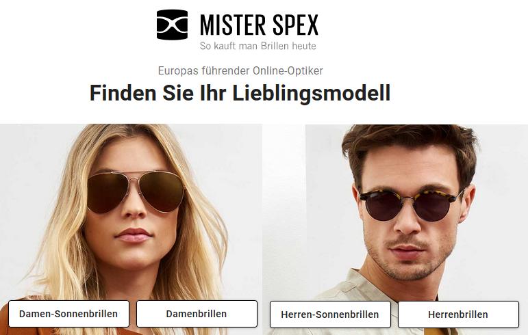 8f494c908f8536 Mister Spex – Brillen & Sonnenbrillen bis zu 30% günstiger inkl.  Qualitätsgläser! Ray-Ban & Co.